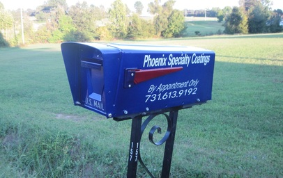 Look for our custom mailbox ... you can see it from Highway 45E!